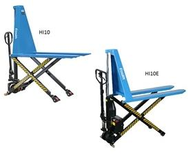 MANUAL AND ELECTRIC SCISSOR LIFT PALLET TRUCKS