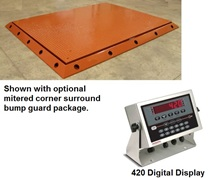 HEAVY 20,000 LB. CAPACITY FLOOR SCALES